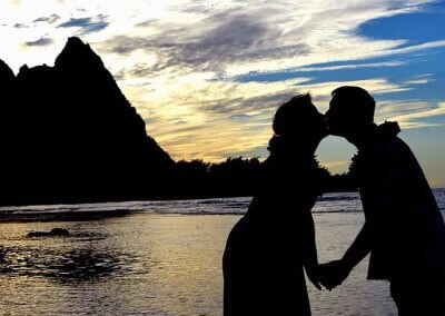 Sunset Wedding Kauai