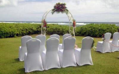 Kauai Wedding Chairs on the Beach
