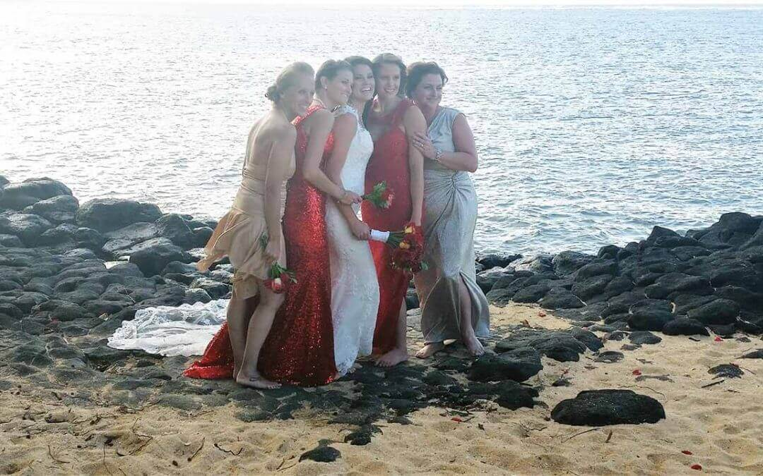 Identical Bridesmaids